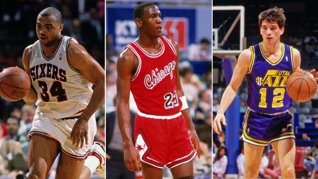 Legendary Moments In NBA History: Jordan, Barkley, Stockton debut in 1984 | NBA.com