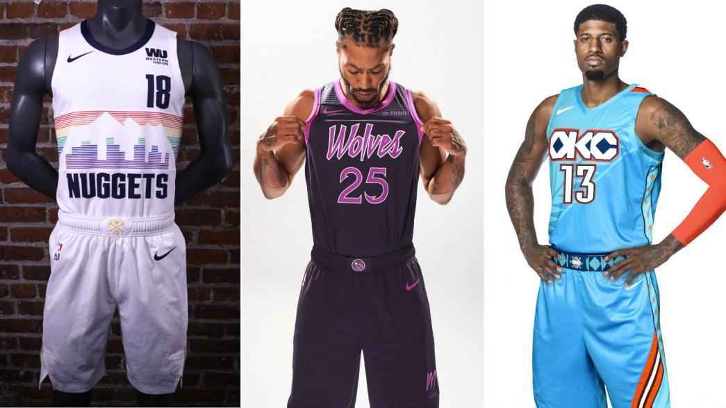 buy popular d9b49 c421c City Edition uniforms: Teams league-wide unveil new looks ...