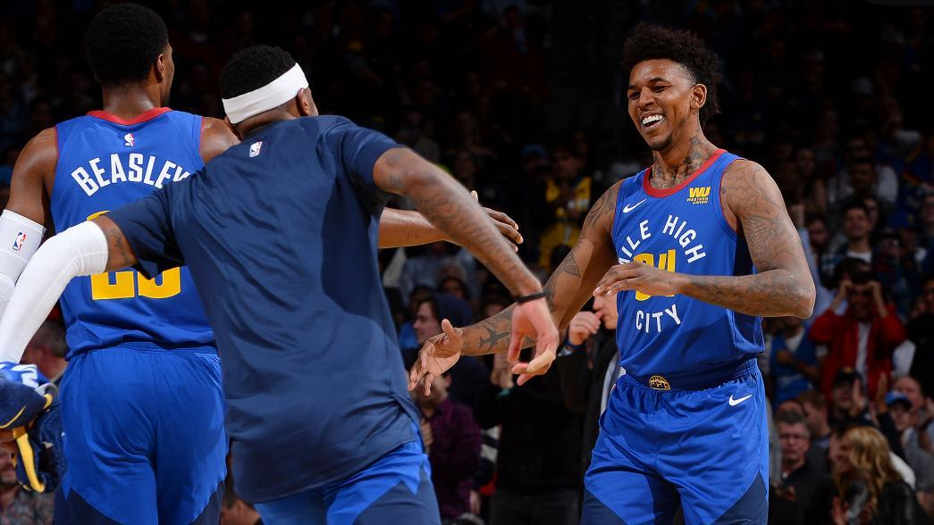 Spiegel Aan Ketting : Denver nuggets waive guard nick young nba.com