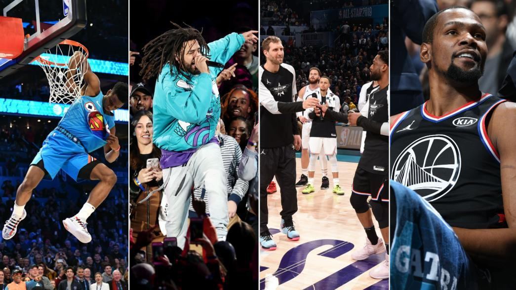 cedf30a0c Recapping standout moments from NBA All-Star 2019 weekend
