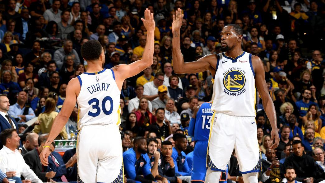 Warriors miss Kevin Durant, but do they need him? GettyImages 1052336112