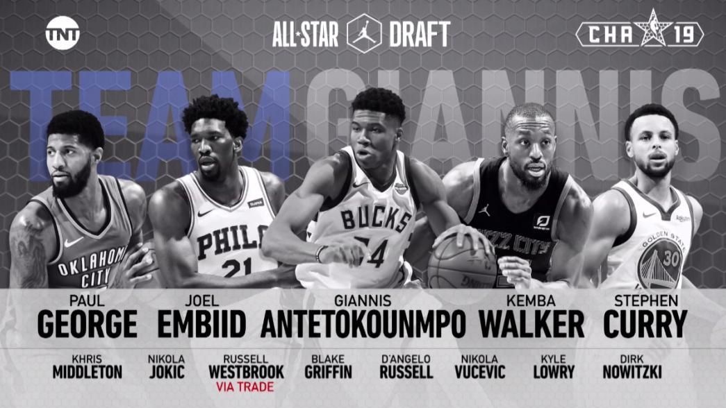 NBA All-Star Game rosters: Team LeBron vs Team Giannis ...