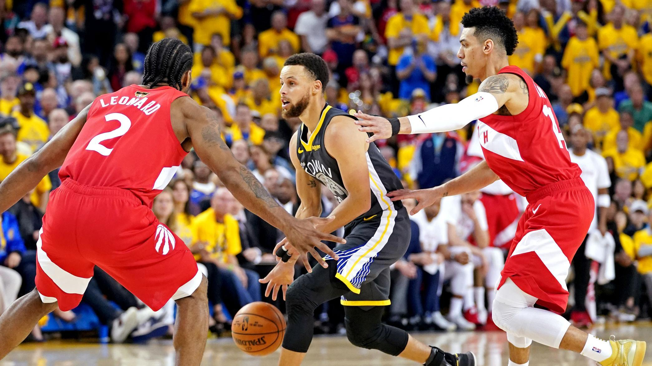 curry-defended - Prediction   Toronto Raptors will be NBA Champion - Basketball | NBA-PBA