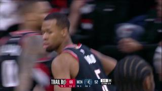 40a54487d8bb 0021801157 Portland Trail Blazers with 6 3-pointers in the 2nd Quarter vs.  Minnesota Timberwolves