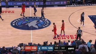 35db604f9ad 0021801197 Minnesota Timberwolves vs. Oklahoma City Thunder - Game  Highlights