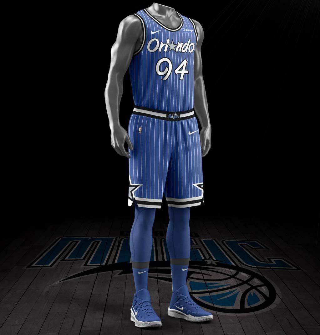 The Orlando Magic will sport this Classic Edition look in 2018-19. e8d5bfc3f