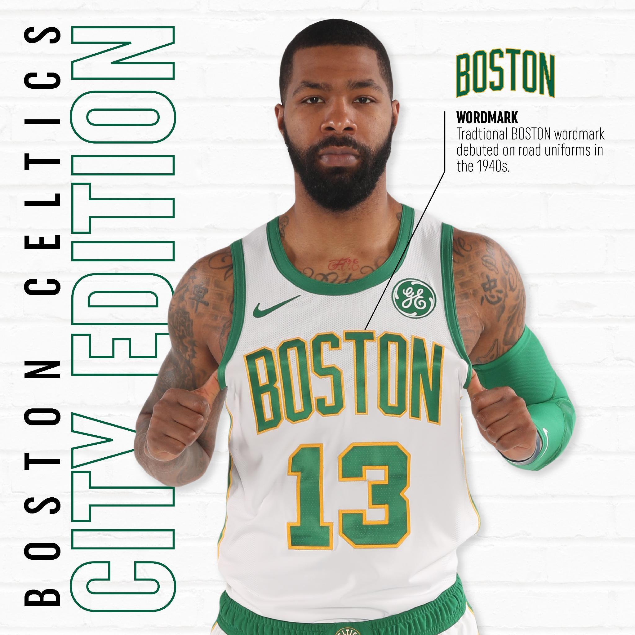 c73086cf1dc4 Marcus Morris sports the new City Edition uniforms for the 2018-19 season.