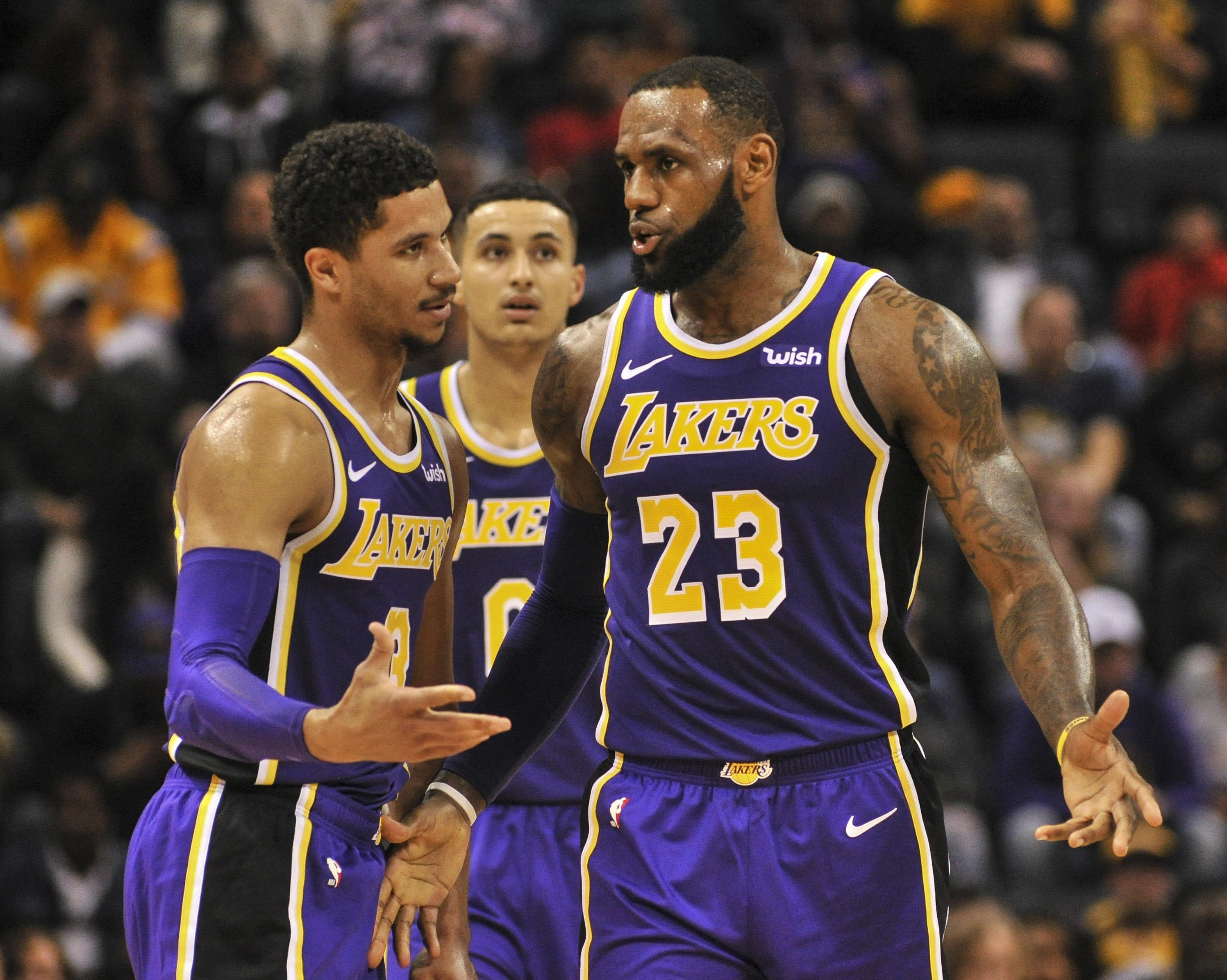 4d30fd48e4a Josh Hart is one of the top 3-point shooting threats on the Lakers.