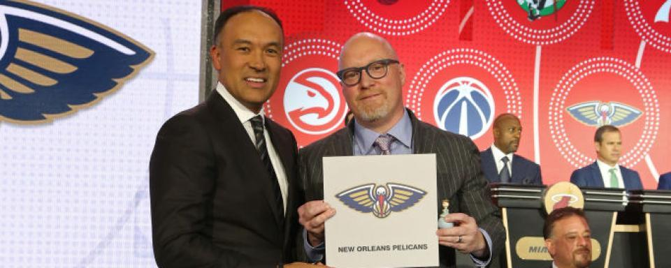 Image result for nba draft lottery 2019 winner